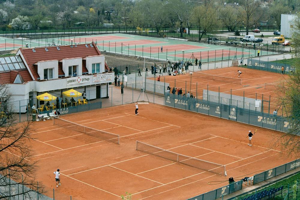 Korty tenisowe budowa